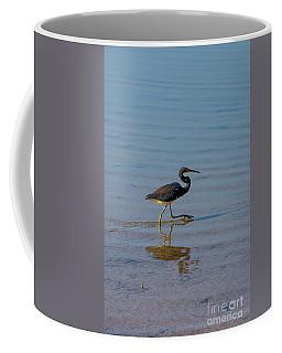 Tricolored Heron Taking A Stroll Coffee Mug