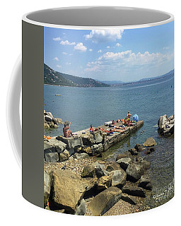 Trieste Miramare Beach Coffee Mug