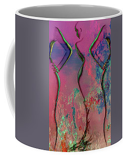 Coffee Mug featuring the digital art Triffectionate by Greg Sharpe