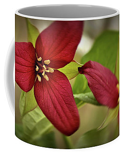 Trillium Against The Wind Coffee Mug