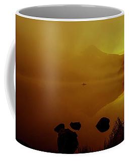 Trillium Lake Sunrise Coffee Mug