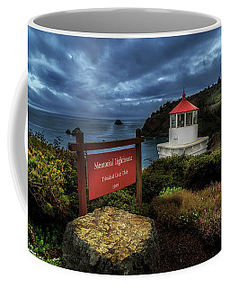 Coffee Mug featuring the photograph Trinidad Memorial Lighthouse by James Eddy