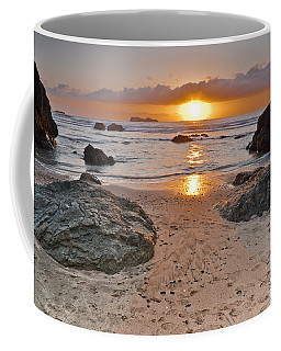 Trinidad State Beach Sunset Coffee Mug