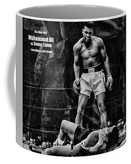 Trinity Boxing Gym Ali Vs Liston  Coffee Mug