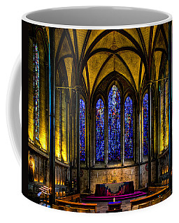 Coffee Mug featuring the photograph Trinity Chapel Salisbury Cathedral by Chris Lord