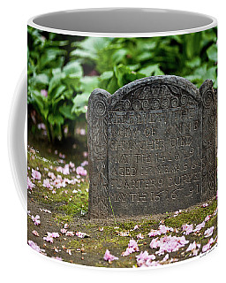 Trinity Church Tombstone Coffee Mug