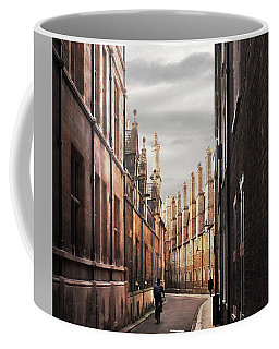 Coffee Mug featuring the photograph Trinity Lane Cambridge by Gill Billington