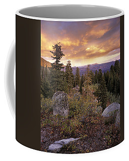 Trinity Mountains Coffee Mug by Leland D Howard