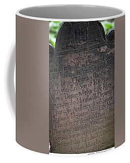 Trinity Tombstone Coffee Mug