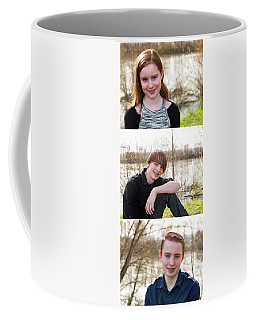 Trio 2 Coffee Mug by Rebecca Cozart