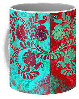 Coffee Mug featuring the digital art Trip The Night Fantastic Together by Angelina Vick