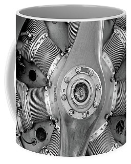 Triplane Engine - 2017 Christopher Buff, Www.aviationbuff.com Coffee Mug