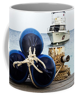 Coffee Mug featuring the photograph Triple Bumpers by Jean Noren