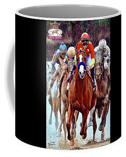 Triple Crown Winner Justify 2 Coffee Mug