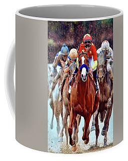 Triple Crown Winner Justify Coffee Mug