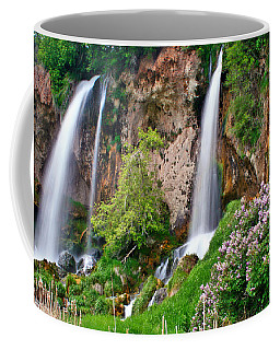 Triple Falls Coffee Mug by Scott Mahon