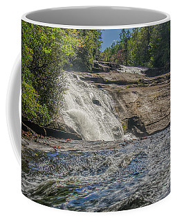 Coffee Mug featuring the photograph Triple Falls Second Tier by Steven Richardson
