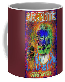 Triple Take Absinthe Coffee Mug