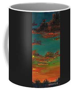 Triptych 3 Coffee Mug by Frances Marino