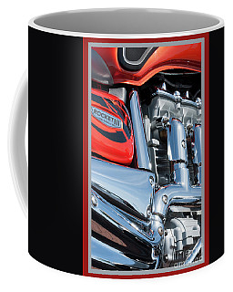 Coffee Mug featuring the photograph Triumph 6 by Wendy Wilton