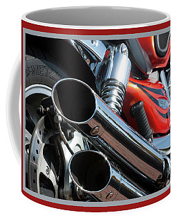Coffee Mug featuring the photograph Triumph 8 by Wendy Wilton