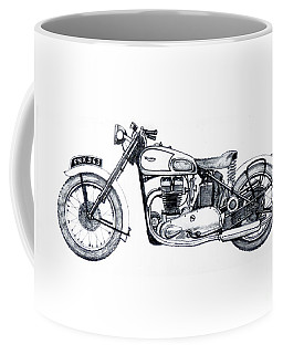 Triumph Tiger 100 Coffee Mug