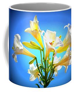 Triumphant  Easter Lilies Coffee Mug