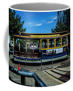 Trolley Car Turn Around Coffee Mug