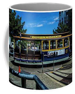 Trolley Car Turn Around Coffee Mug