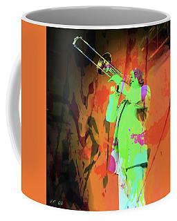 Trombone Player,2 Coffee Mug