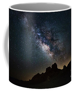 Trona Pinnacles Galactic Core Coffee Mug