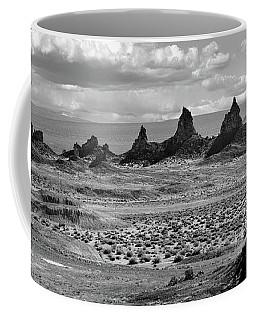 Trona Pinnacles Peaks Coffee Mug by Marius Sipa