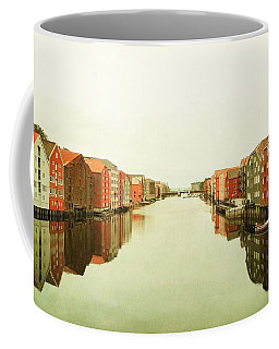 Trondheim On A Rainy Day Coffee Mug
