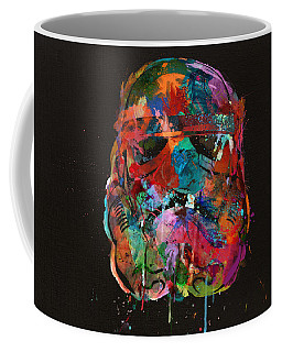 Trooper In A Storm Of Color Coffee Mug
