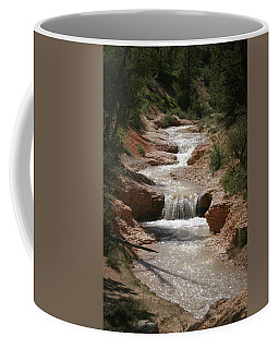 Coffee Mug featuring the photograph Tropic Creek by Marie Leslie