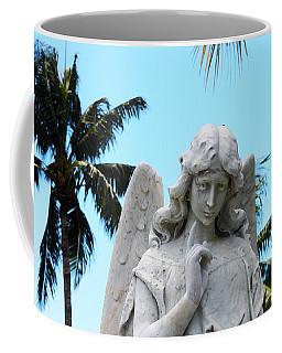 Tropical Angel With Tear Coffee Mug