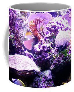 Coffee Mug featuring the photograph Tropical Aquarium by Francesca Mackenney