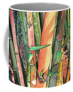Tropical Bamboo Coffee Mug