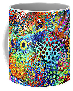 Tropical Beach Art - Under The Sea - Sharon Cummings Coffee Mug