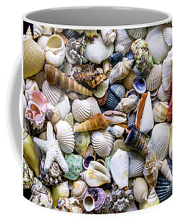 Tropical Beach Seashell Treasures 1500a Coffee Mug
