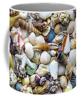 Tropical Beach Seashell Treasures 1529b Coffee Mug