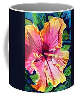 Tropical Bliss Hibiscus Coffee Mug