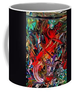 Tropical Cat Atack Coffee Mug