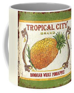 Tropical City Pineapple Coffee Mug