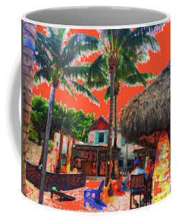 Coffee Mug featuring the photograph Tropical Colores by Beth Saffer