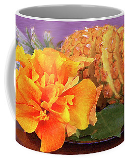 Coffee Mug featuring the photograph Tropical Delight Still Life by Ben and Raisa Gertsberg