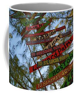 Tropical Directions Coffee Mug