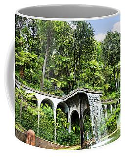 Tropical Gardens Waterfall Coffee Mug