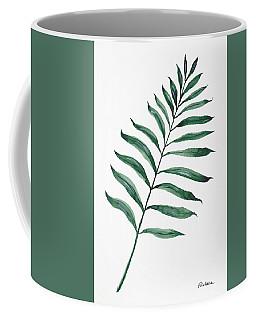 Tropical Greenery - Palm Tree Leaf Coffee Mug