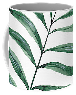 Tropical Greenery - Palm Tree Leaf Coffee Mug